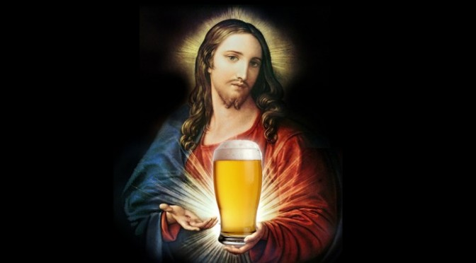 Having A Beer With Jesus