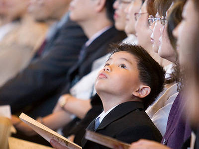 Sadly, this is still me in church.