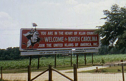 There was one of these billboards just across the line in Randolph County when I was a youngster.