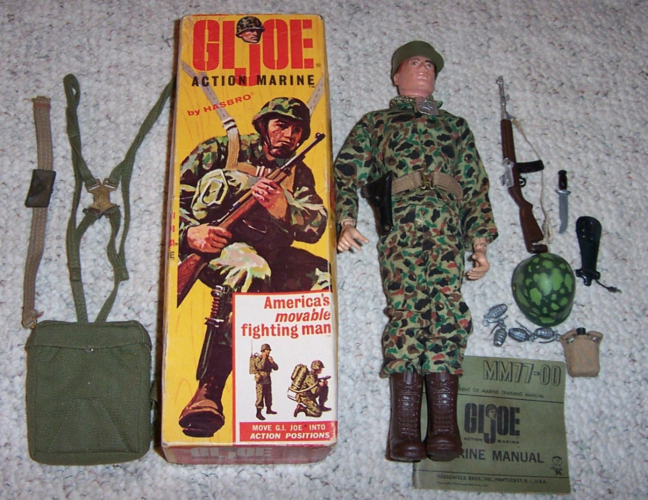 Later, I had one of those wussy, non-violent Adventure Team figures, but we don't talk about that.